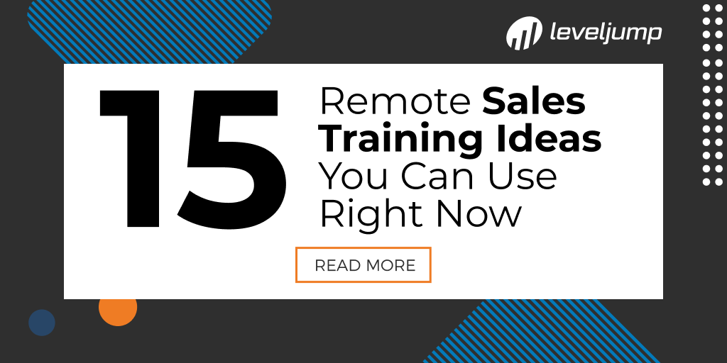 15 Remote Sales Training Ideas You Can Use Right Now
