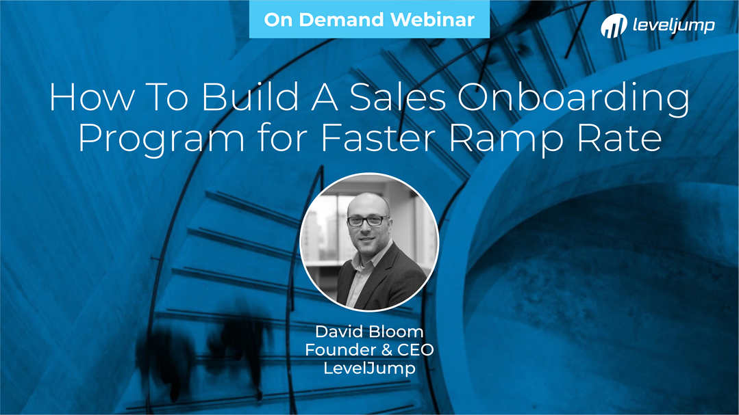 How To Build A Sales Onboarding Program for Faster Ramp Rate