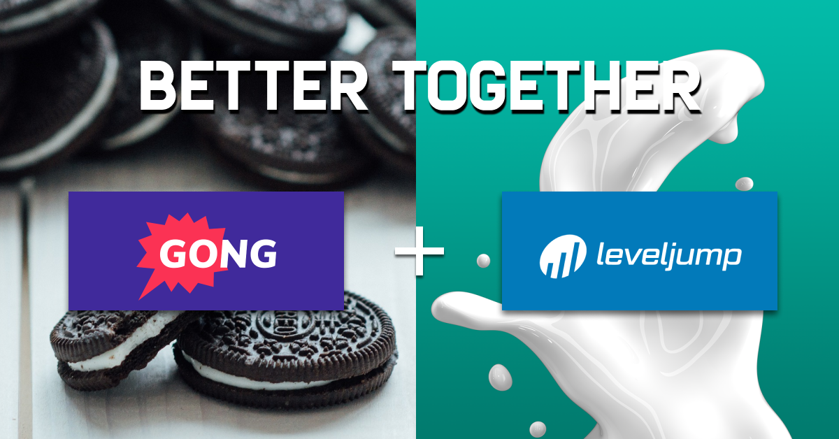 LevelJump Gong Integration Better Together