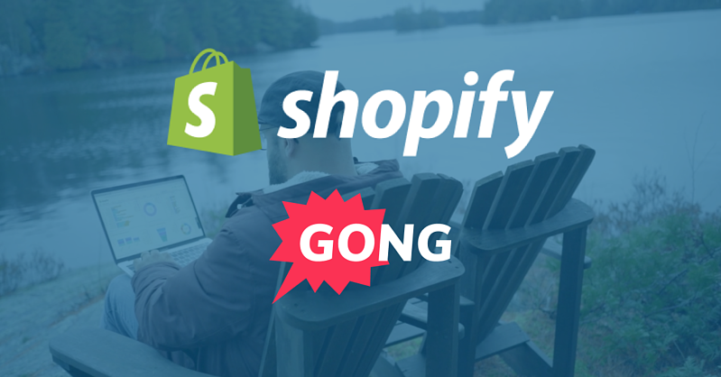 Shopify + Gong Customer Success Story